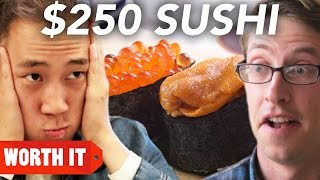 $3 Sushi Vs. $250 Sushi