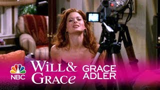 Will & Grace - Grace Fails to Seduce via Videotape (Highlight)
