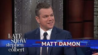 Matt Damon Explains Why