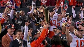 Clemson upsets Alabama in thrilling college football championship