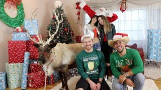 MAKING THE LONELY CHRISTMAS MUSIC VIDEO!! (BTS)