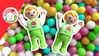 Playmobil Film deutsch - Im Bällebad - Kinderfilm -  Kinderkanal Family Stories