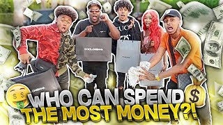 WHO CAN SPEND THE MOST MONEY IN 24 HOURS!! ft. SmoothGio, KingCid, Dymond, DuB, Ciante