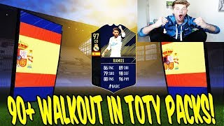 OMG! 90+ WALKOUT in 50K TOTY Lightning Rounds! 💎🤑 Fifa 18 Pack Opening Ultimate Team Deutsch