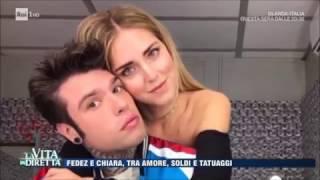 """Fedez: """"Sono più ricco di Chiara Ferragni"""" - La Vita in Diretta 28/03/2017"""