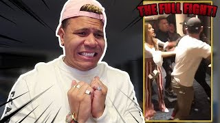 REACTING TO FULL FIGHT WITH JAKE PAUL!! (never seen before)