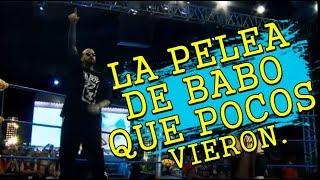 LA P3LEA DE BABO CARTEL DE SANTA QUE POCOS VIERON | MUSICRAPHOOD