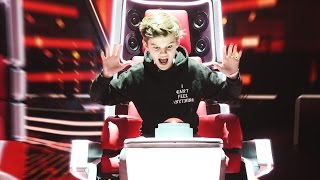 Was macht Oskar bei THE VOICE KIDS??