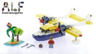 Lego Creator 31064 Island Adventures - Lego Speed Build Review