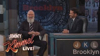 Jimmy Kimmel's FULL INTERVIEW with David Letterman