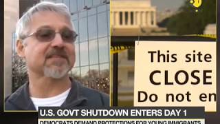 US government shutdown enters day 1