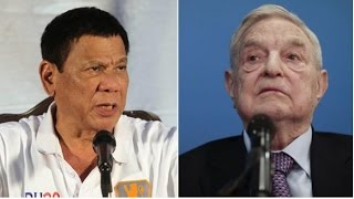 "PRESIDENT DUTERTE WARNS GEORGE SOROS! THERE IS A ""BOUNTY ON YOUR HEAD""!"