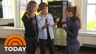 Jennifer Lopez Teach Savannah And Hoda Her Best Dance Moves | TODAY