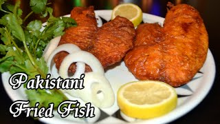 Pakistani Fried Fish
