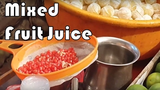 Mixed Fruit Juice | Mausami/ Sweet Lime/ Anaar Juice - Indian Street Food and Drink by FTFM