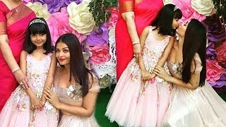 Aaradhya Bachchan 6th Birthday Party 2017 (Inside Video)- Aishwarya Rai,Abhishek,SRK,Abram