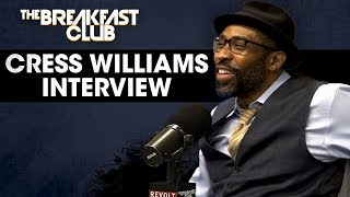 Cress Williams Talks