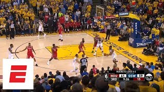 Best moments from Warriors defeating Rockets in Game 6 of Western Conference finals | ESPN