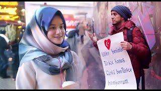 عربي يطلب من الاتراك يعلموه اللغة التركية لن تصدق ماحدث