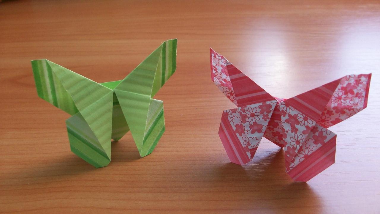 Как сделать красивые поделки из оригами 4