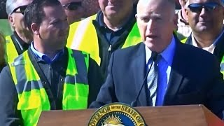 GOVERNOR JERRY BROWN WANTS TO RAISE CAR/GAS TAXES BECAUSE ILLEGAL ALIENS ARE EXPENSIVE