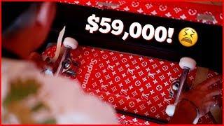 WE BROKE OUR $59,000 LOUIS VUITTON SKATEBOARD