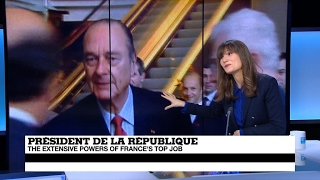 French president: A modern-day monarch?