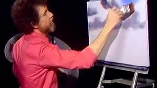 Bob Ross - Malerei Wolke - Malerei Video