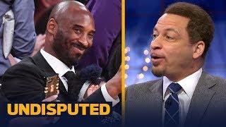 Chris Broussard on Steve Kerr comparing Kobe Bryant, LeBron James and MIchael Jordan   UNDISPUTED