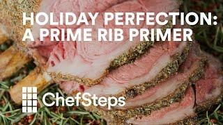 Holiday Perfection: A Prime Rib Primer