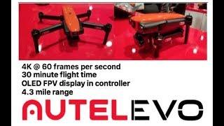 "The DJI MAVIC killer - the Autel ""EVO"" compact folding 4k drone : CES 2018"