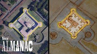 """How Leonardo da Vinci made a """"satellite"""" map in 1502"""