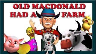 Old MacDonald Had a Farm eieio with Lyrics | Children