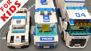 LEGO Police cars Compilation