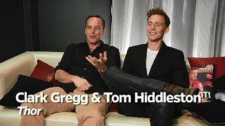 Tom Hiddleston and Clark Gregg Interview - Comic Con 2010