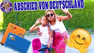 ABSCHIED NEHMEN VON DEUTSCHLAND UND AUSWANDERN ? Vlog #84 Our life FAMILY FUN
