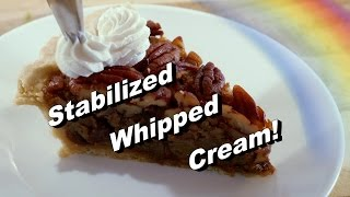 How to Make Homemade Cool Whip and/or Stabilized Whipped Cream Recipe