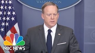 Sean Spicer: 'We're Not Saying It's The End Of Health Care' | NBC news