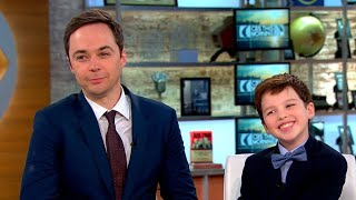 Jim Parsons and Iain Armitage talk CBS