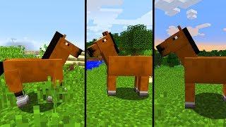Neuer Command | Command UI | Pferde! - Minecraft Update 1.13 - Snapshot 17w46a