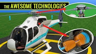 How does a Helicopter fly ?