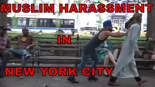 Muslim Harassment IN NEW YORK SOCIAL EXPERIMENT!