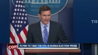 Flynn to take 5th Amendment, decline subpoena