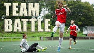 2vs2 TEAM CHALLENGES ! Arsenal gegen Bayern