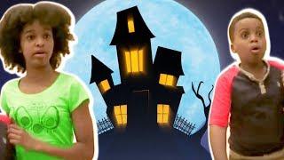Bad Baby Shiloh And Shasha HAUNTED HOUSE! - Onyx Kids