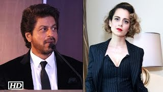 Shah Rukh Khan REACTS on working with Kangana Ranaut