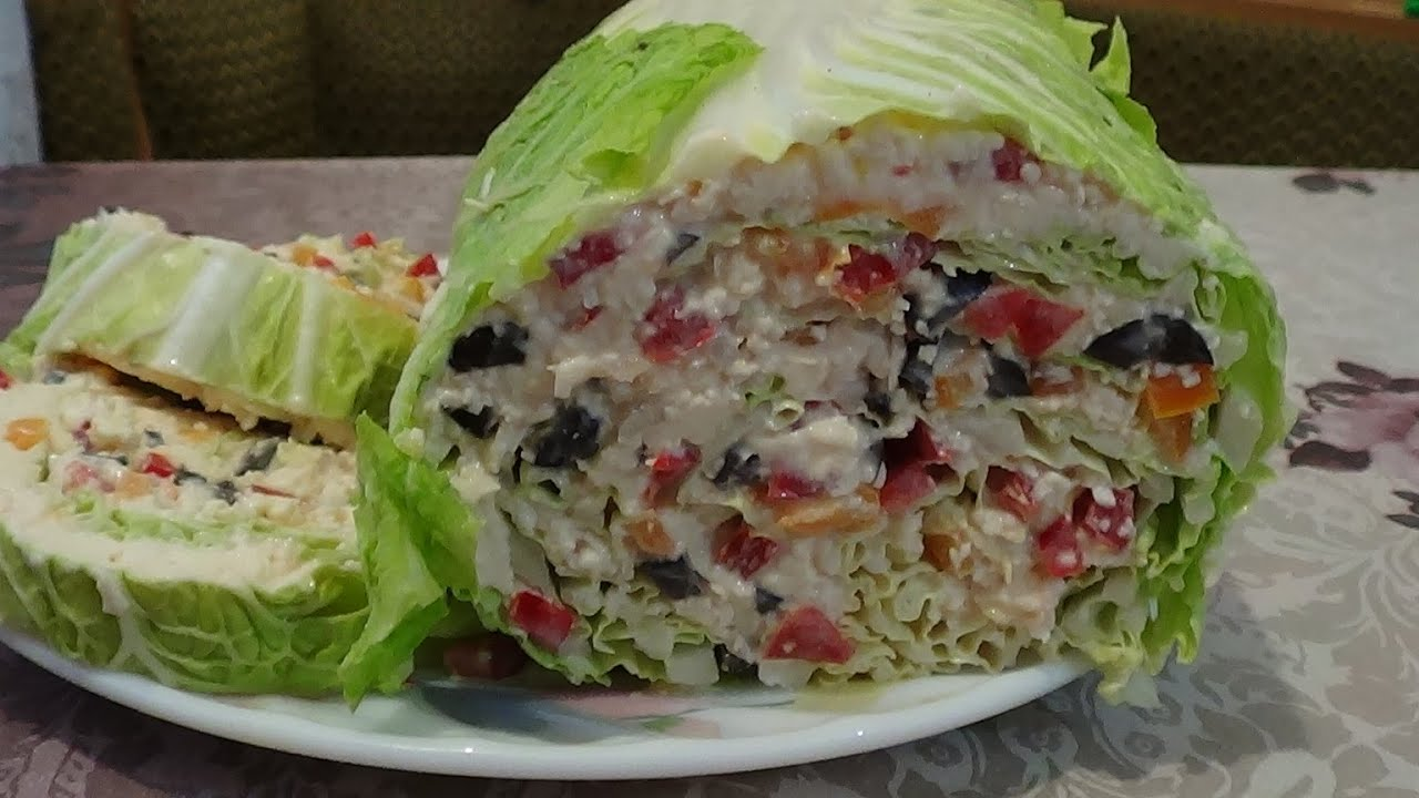 Блюда из пекинской капусты рецепты с фото пошагово