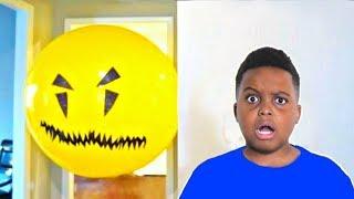 Bad Baby Giant Balloon Stalker ATTACKS Shiloh  - Onyx Kids