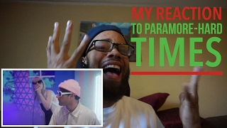 Paramore-HARD TIMES(non pop fan) reaction video
