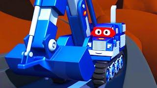 Baby Autos Retten - Carl der Super Truck in Autopolis 🚚 ⍟ | Auto und Lastwagen Bau Cartoons